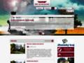 Náhled webu Jindřichohradecké místní dráhy (JHMD)