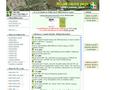 Náhled webu ROJIR - hledání pokladů (kešek)
