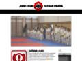 Náhled webu Judo Club Tatran Praha
