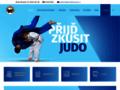 Náhled webu Judoclub Plzeň