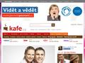 Náhled webu Kafe.cz