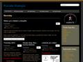 Náhled webu Karate Goju Ryu Kampa Praha