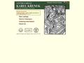 Náhled webu Antikvariát Karel Křenek
