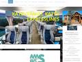 Náhled webu Katev Travel - autobusová doprava