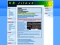 Náhled webu KB Jílové
