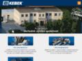 Náhled webu Kebek, s.r.o.