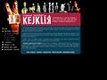 Náhled webu Divadelní společnost Kejklíř