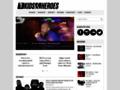 Náhled webu Punk Pages