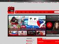 Náhled webu Radio Kiss Morava