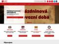 Náhled webu Knihovna Karla Dvořáčka Vyškov