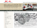Náhled webu KL-interier