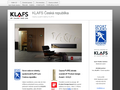 Náhled webu Klafs