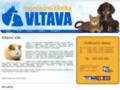 Náhled webu Veterinární klinika Vltava