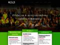 Náhled webu KOLB - DANCE Praha