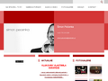 Náhled webu Šimon Pečenka