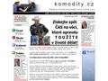 Náhled webu Komodity.cz