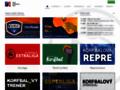 Náhled webu Česká korfbalová asociace