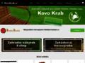 Náhled webu Kovo Krab