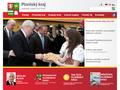 Náhled webu Portál Plzeňského kraje