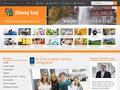 Náhled webu Zlínský kraj