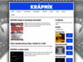 Náhled webu Krápník