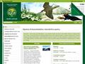 Náhled webu Krkonošský národní park