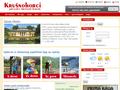 Náhled webu Krušnohorci: informace z Krušných hor