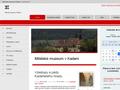 Náhled webu Městské muzeum Kadaň