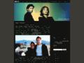 Náhled webu Kult X o seriálu Akta X