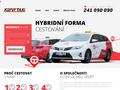 Náhled webu Kurýr Taxi
