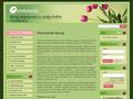 Náhled webu Centaurea - kurzy aranžování květin