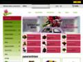 Náhled webu Květiny V&Š
