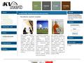 Náhled webu KVnet