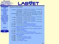 Náhled webu LabVet