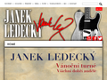 Náhled webu Ledecký, Janek