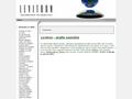 Náhled webu Levitron – antigravitace na vašem stole