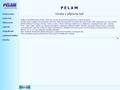 Náhled webu Pelam - Pavel Pechouš