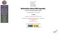 Náhled webu Multimediální učebnice DNA diagnostiky