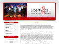 Náhled webu Liberty One CZ - Show & Event Agency