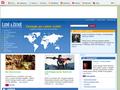 Náhled webu Lidé a Země