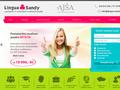 Náhled webu Lingua Sandy