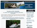 Náhled webu Dovolená na lodi v Holandsku