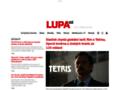 Náhled webu Lupa: Podcast - revoluce v internetovém vysílání