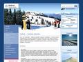 Náhled webu Lyžařské středisko Deštné