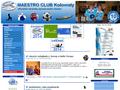 Náhled webu Maestro club Kolovraty