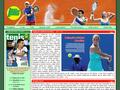 Náhled webu Magazín Tenis