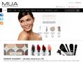Náhled webu Make Up Academy