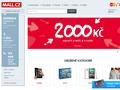 Náhled webu Mall.cz