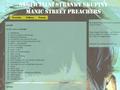 Náhled webu Manic Street Preachers