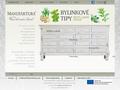 Náhled webu Manufaktura